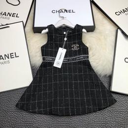 f847e7579301 2018 neue Kinder Nähen Brief Taille Kleid mit 40% Wolle 60% Polyesterfaser  innen 100% Baumwolle