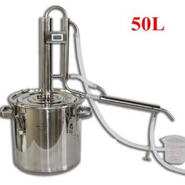 50L Home Full Kit Destillieren Spalte mit Tank Bar ALKOHOL Moonshine Hooch Wodka Whisky Brandy Distiller Wasser Saft usw. von Fabrikanten