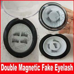 Wholesale lash extension kits wholesale - 4 Pcs Set Magnetic Eyelashes 3d Lashes Extension For Professionals False Eyelashes Set Eye Lashes Extension Kit cheap