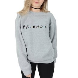 Argentina Friends Rachel Green Ross Friends Tv Shows Mujer Sudaderas Sudaderas con capucha de manga larga Algodón adolescente Fleece Sudadera Jerseys Camisas supplier sweatshirt green Suministro