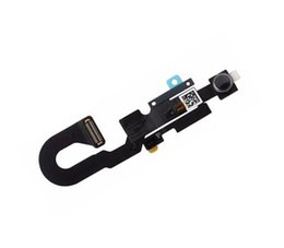 Wholesale Iphone Camera Module - Epacket Original Front Small Facing Camera Module Proximity Light Sensor Flex Cable Parts for iPhone 7