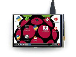 """Livraison gratuite 4.0 """"pouces Raspberry Pi 2 B + Module d'écran tactile LCD 320x480 TFT tactile résistif Carte d'affichage PI2 B + ? partir de fabricateur"""
