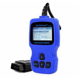 Ferramentas de serviço vw on-line-Autofix VAG007 Auto Scanner de Diagnóstico para Audi VW Seat Skoda Leitor de Código de Falha ABS SRS EPB Serviço de Óleo Ferramenta de Diagnóstico de Reset