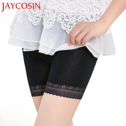 Wholesale Tiered Pants Wholesale - SIF Fashion Women Lace Tiered Skirts Short Skirt Under Safety Pants Underwear shorts JUN 27