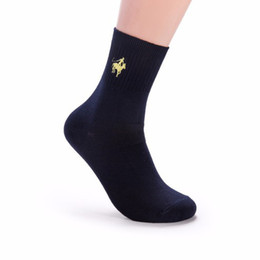 knitted dress embroidery Coupons - Pierpolo Brand Socks 5pairs  Lot Fashion Socks Men Happy Meia Men 'S Socks Business Embroidery Cotton Dress Sock Calcetines