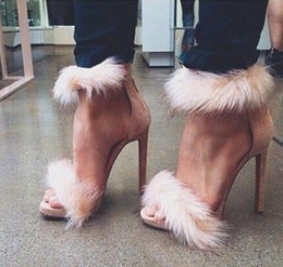 tacchi alti bianchi Sconti 2018 Partito Donna Scarpe Piuma Solido Rosso / Bianco Cerniera Sottile Tacchi Alti Sandali Donna Scarpe Club Estate Zapatos Mujer Nave Libera