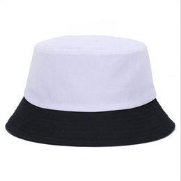 Korean jelly-colored Solid Color Bucket Hats for Men Panama Women Hat  fisherman hat Street DIY portable basin tide visor 3d9ae836d852