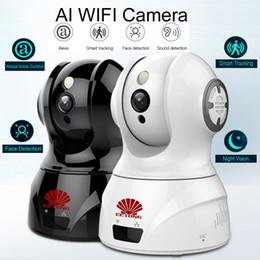 Tonerkennungskamera online-Intelligente AI WIFI PTZ FHD IP Wolke Kamera mit Alexa Sprachsteuerung Auto Smart Tracking Gesichtserkennung Sound Detection für Motion Alarm Alert