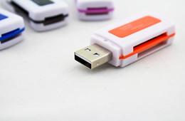 connecteur de mini carte Promotion Lecteur multifonction Premium USB2.0 jadeite de qualité supérieure, lecteur de carte SD TF M2 multifonctions, lecteurs de carte mémoire
