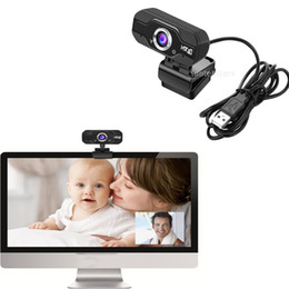 mic para skype Rebajas Cámara giratoria HD 720P Webcam con clip de micrófono en la red de escritorio de Skype