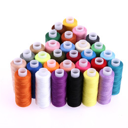 30 Pcs / ensemble 250 Yard Polyester Broderie À La Machine À Coudre Fils À Coudre À La Main Fil Craft Patch Volant À Coudre Fournitures ? partir de fabricateur
