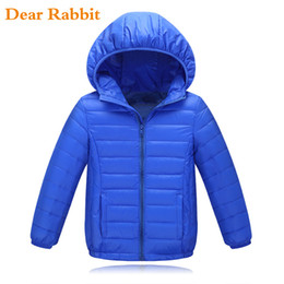 2021 мальчики перо куртки 2018 brand 90% duck feather Ultra light Boys children's Autumn spring jacket kids for girls Baby down coat Jackets outerwear