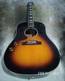 Deutschland Linkshänder Sunburst Farbe 41 Zoll akustische E-Gitarre, anpassen Logo China gemacht Gitarren Versorgung