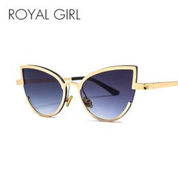2d261b50dd5706 2019 designer halb randlose brillen ROYAL GIRL  Katzenaugen-Sonnenbrille-Frauen 2018 Marken-Designer