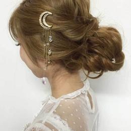 casamento do pente do cabelo da borboleta Desconto Acessórios Para o Cabelo De Noiva Com Pérolas, Flores Beads Noiva U Pins Borboleta grampo de cabelo Pente De Casamento Vestidos Acessório Encantador Headpieces