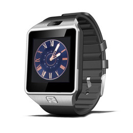Wholesale remote control android - DZ09 Smart Watch Dz09 Watches Wristband Android Watch Smart SIM Intelligent Mobile Phone Sleep State Smart Watch Cradle Design