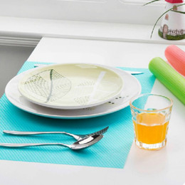 Forros de cajones online-Multiusos Congelador Mat Frigorífico Anti-fouling Anti Frost Pad impermeable Mesas de cocina Armario Cajón Mat Estante Liners
