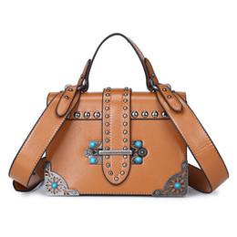 Wholesale Black Leather Hand Bags - 2018 New Women Bag Handbags Famous Designer Women Leather Handbags Luxury Ladies Hand Bags Shoulder black lock