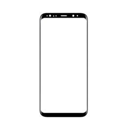 """Wholesale Check Dhl - 20Pcs (Checked) For Samsung Galaxy S8+ Plus G955 G955F front Glass Lens 6.2"""" Touch Screen Panel Free DHL"""