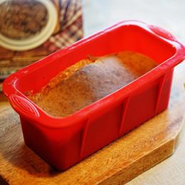 Wholesale Silicone Cake Mold Boxing - Hot Sale Silicone Rectangle Toast Box Size 25*12*7.5cm Cake Mold Baking Tools Bakeware Maker