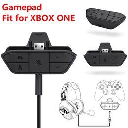 2019 consola xbox one para Adaptador de auriculares estéreo inalámbrico para juegos Gamepad Adaptador de audio Convertidor de auriculares para Microsoft Xbox One Controlador Consola de juegos Accesorios rebajas consola xbox one para