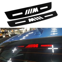 2019 etiquetas do carro de inglaterra Car Styling Etiqueta Da Luz de Freio Para BMW E46 E90 E91 E92 E90 F30 F31 F35 F80 F10 F91 F04 F05 3 5 7Series Auto Car acessórios