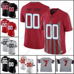 Custom 2018 NCAA Ohio State Buckeyes OSU College Football jerseys 7 Dwayne  Haskins Jr. 2 JK Dobbins 97 BOSA 15 Elliott d8b42e94d