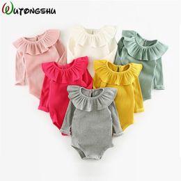 Ropa de bebé unisex mangas largas Baby Girl mamelucos ropa Primavera otoño  infantil producto conjunto recién nacido ropa para niños 0-2Y rebajas  mamelucos ... 79c6442d8e89