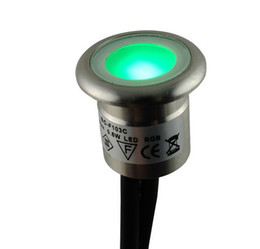 Argentina 6pieces / lot LED empotrada Undergournd lámpara LED Inground Lighting lámpara impermeable IP67 contra polvo Low Voltage 12V Led Garden Light Suministro