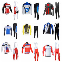 GIANT KATUSHA team Cycling long Sleeves jersey bib pants sets 2018 men The  New wear autumn men Breathable bicycle jersey 10912X discount cycling jersey  ... a4928a6f5