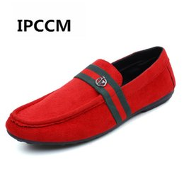Новые корейские мужчины повседневная обувь онлайн-IPCCM  2018 Spring/Autumn New Student Comfortable Breathable Casual Shoes Men's Korean Youth Trend Fashion Wild Peas Shoes