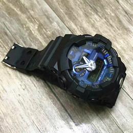 Popular 2017 reloj de moda de los hombres Militar G Reloj deportivo digital para hombres Boy Estudiante Reloj despertador Ejército Stock LED Reloj analógico relojes desde fabricantes