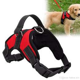 Wholesale Pet Vest Collar - HOT! Dog Supplies K9 Pet Dogs Harness Collars high quality Vest Dog Harness pet products harnais pour chie for Big Large Medium Small