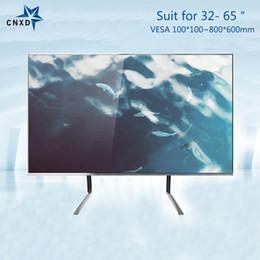 Soporte universal de sobremesa para TV Soporte de soporte de monitor de escritorio para mesa de TV para la mayoría de 32-65
