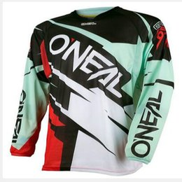 Wholesale Motorcycle Wear Brands - Brand New 2018 Men Motorcycle Motocross DH Downhill MX MTB Free T-shirt Jerseys Wear Long Sleeve Cycling Jersey T-shirt