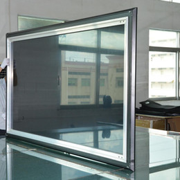 Wholesale Projection Frame - Home Theater Fixed Frame Projection Projector Screen CLR Screen for Laser projector and Short focus projector