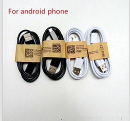 Wholesale phone line wiring - 2018 Good quality USB Cable Data line Light Cords Adapter Charger Wire Charger Wire for Android Phone 1M 3FT For I phone 5  6 7 8