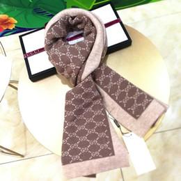 Écharpe tricotée en laine de marque double face écharpes pour hommes et femmes de marque écharpe chaude et sauvage 180-30cm ? partir de fabricateur