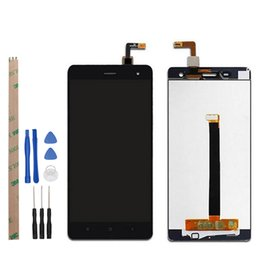 Wholesale 5inch lcd - fhd display ocolor 1920x1080 FHD For Xiaomi Mi4 LCD Display and Touch Screen 5inch Screen Digitizer Assembly Black White + Tools+Adhesive