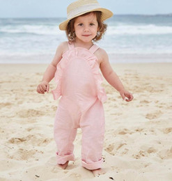 Wholesale baby gentlemen - New girl Gentleman Romper Baby fashion Backless Cotton braces One-pieces Jumpsuits Infant Clothes H819