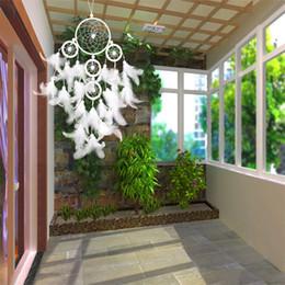 3шт/lot Белый ловец снов ветер куранты индийский стиль перо кулон Ловец снов подарок жемчужина от