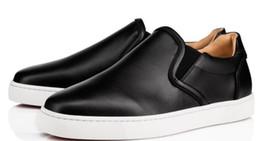 2019 marcas famosas de sapatilhas Novos Low men's preto branco genuíno couro Red Bottom Sapatos de Luxo Para Homens e Mulheres Partido Designer Tênis Famosa Marca tamanho EU36-47 desconto marcas famosas de sapatilhas