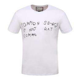 4fdcfc279 roupas de camisa branca Desconto ÍCONE Homens Novo estilo de camiseta curta  homens marca clothing moda