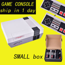 Wholesale hot boxs - Hot sale Mini TV Game Console Video Handheld for NES games consoles with retail boxs OTH733