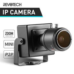 Wholesale Manual Zoom Camera - HD 720P   1080P 2.8-12mm Manual Zoom Indoor IP Camera 1.0MP   2.0MP Mini Type Security Metal Camera ONVIF P2P IP CCTV Cam System