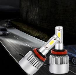 2019 luz de advertencia de peligro estroboscópico H11 COB Car LED Faros Auto Bombilla Faros Super Brillantes Beam Car Bombillas Lámparas Light Car Bulbs OOA4975
