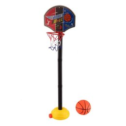 old new toys Promo Codes - New Kids Sports Portable inflatable Basketball Toy Set with Stand Ball & Pump Toddler Baby kids gift