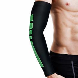 Negro Ciclismo Correr Voleibol Baloncesto Calentadores de brazos Manga del brazo Protección solar Cubierta protectora Oversleeve desde fabricantes