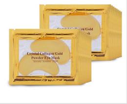 masques pour les yeux hydratants Promotion Nouveau DHL gratuit Collagène pour les yeux au cristal de collagène Hydratant anti-poches pour les yeux Masques pour les yeux Masques anti-âge