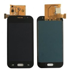 touch screen j1 Sconti LCD per Samsung Galaxy J1 Ace J110 Display LCD Touch Screen Digitizer Assembly per J1 Ace Duos Impossibile regolare la luminosità